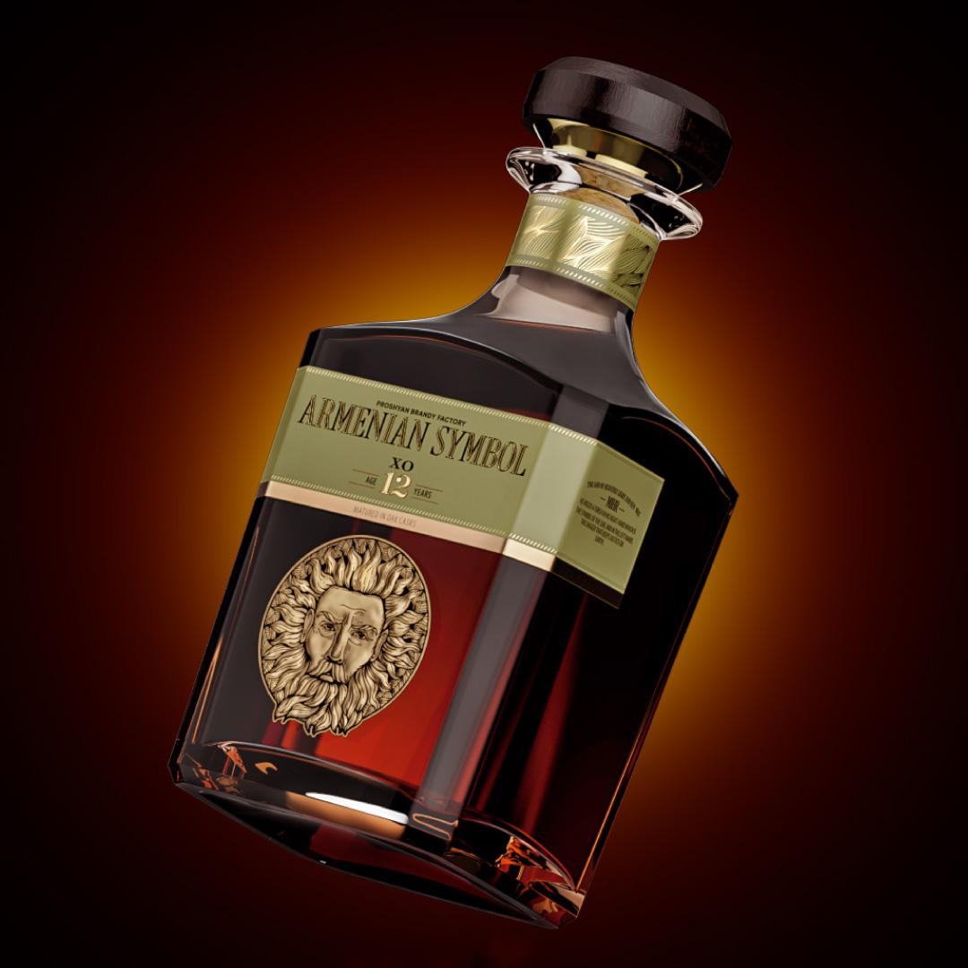 Armenian Symbol Brandy
