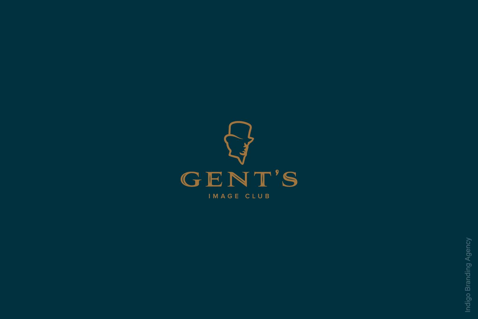 Gent's Indigo Logo Design