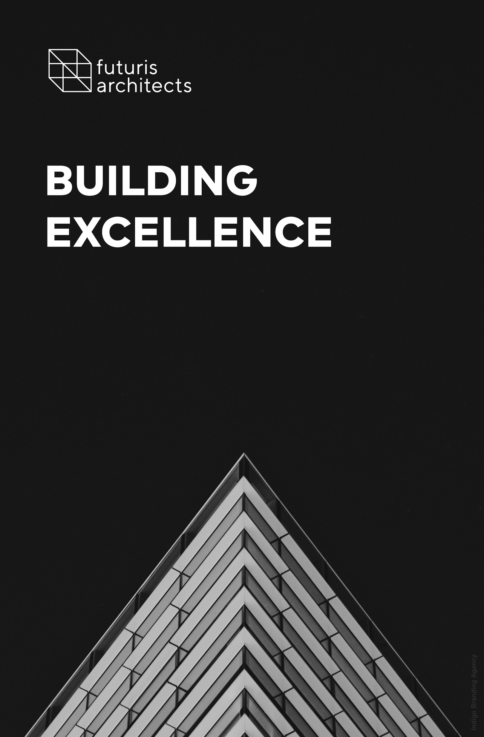 building design architectural branding mockup futuris architects interior design