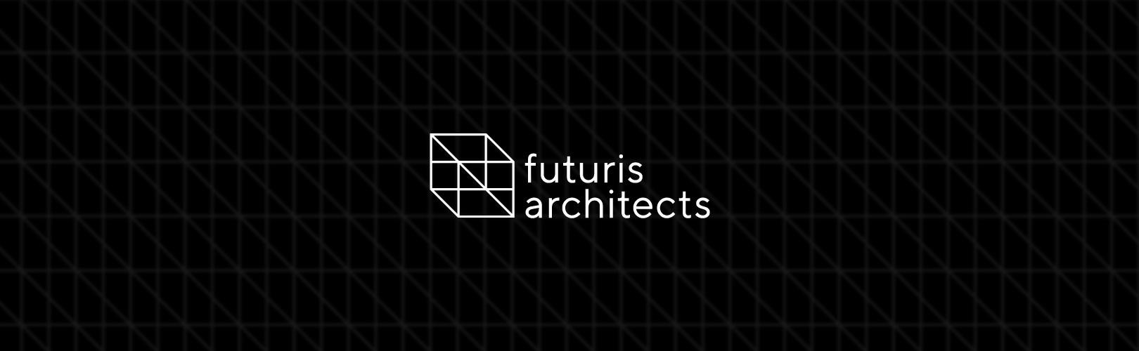 logo design architectural branding mockup futuris architects interior design