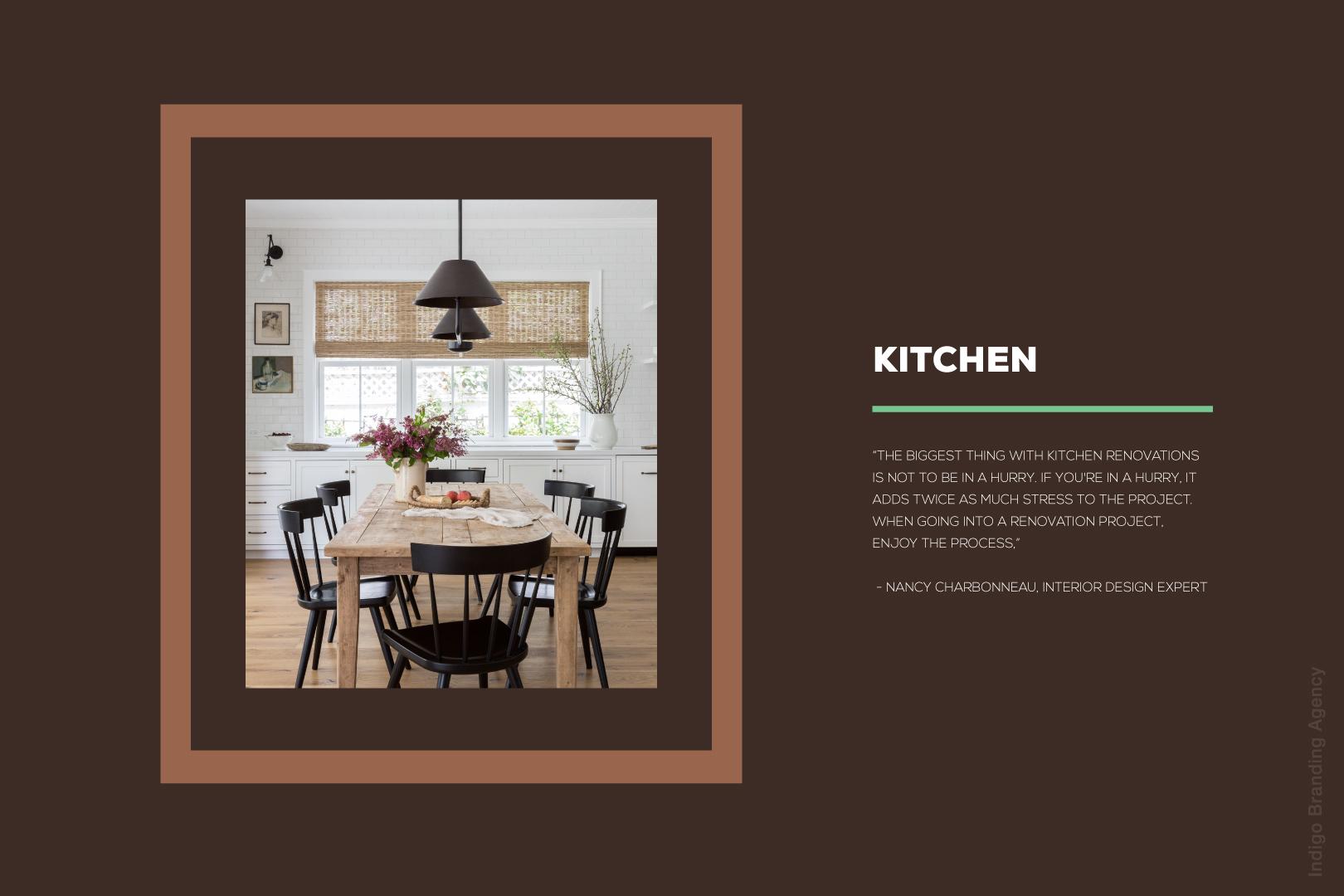bergman woodz furniture production design wood branding logo design naming indigo branding quality furniture kitchen table description
